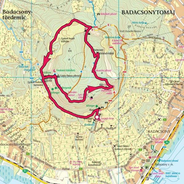 badacsony térkép Badacsony » KirándulásTippek badacsony térkép