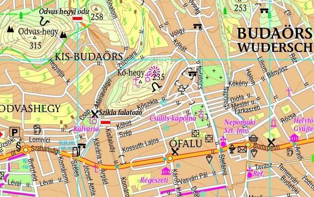budaörs domborzati térkép Budaörs, Kő hegy, Kálvária domb » KirándulásTippek budaörs domborzati térkép