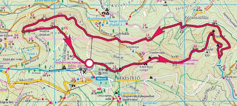 magyarország térkép mátra Kékes tető, Sas kő, Disznó kő » KirándulásTippek magyarország térkép mátra