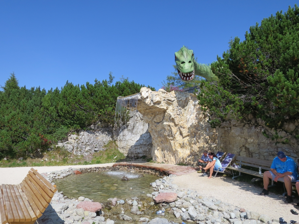 Steinplatte, Triassic Park
