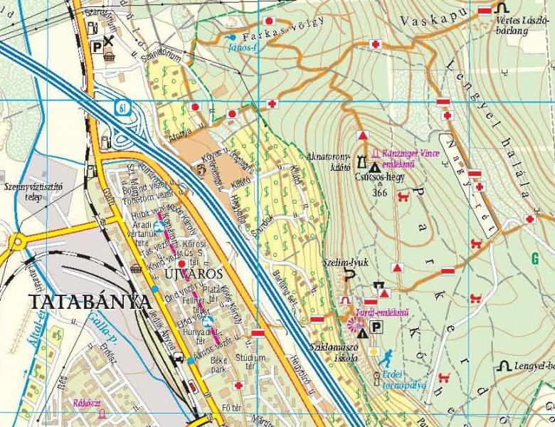 térkép tatabánya ITT JÁRTAM   EZT LÁTTAM: TATABÁNYA ŐSZ A KŐHEGYEN / Folytatás a  térkép tatabánya