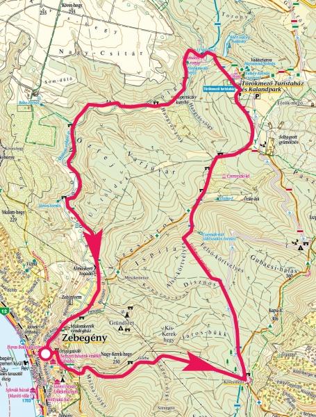 zebegény térkép Zebegény, Törökmező, Malom völgy » KirándulásTippek zebegény térkép